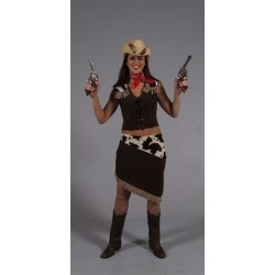 COMPLETO DONNA COW BOY   CO-0314 /CO-0314B